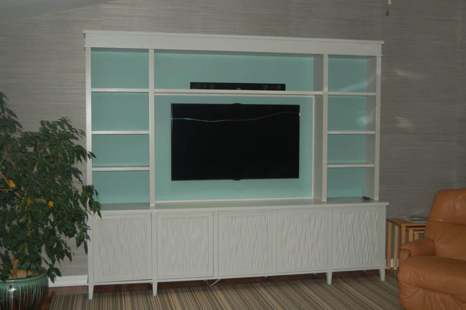 wavyboard entertainment center